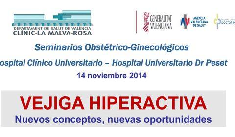 Seminarios Obstétrico-Ginecológicos: La vejiga hiperactiva